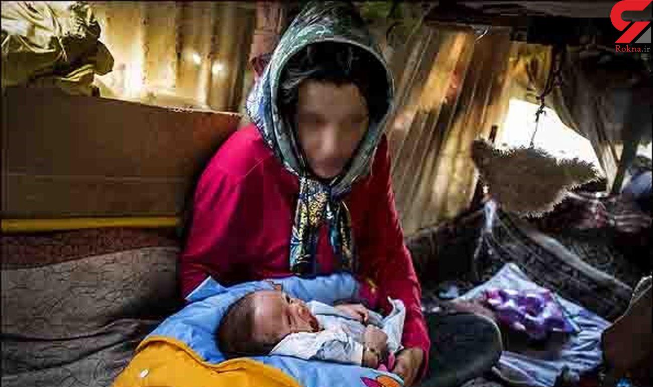 پاتوق های موزائیکی معتادان در تهران / لزوم جدا کردن کودکان از مادران کارتن خواب
