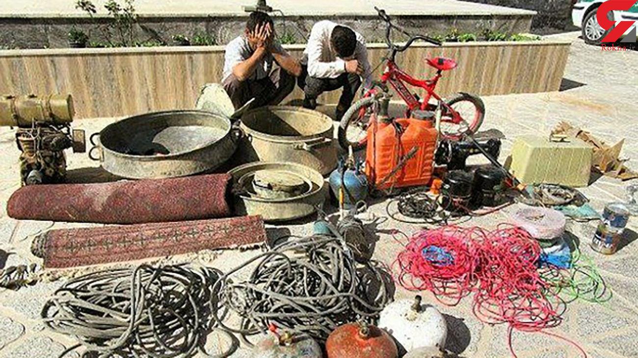 دستگیری سارقان خانه در خواف / اعتراف به 10 فقره دزدی