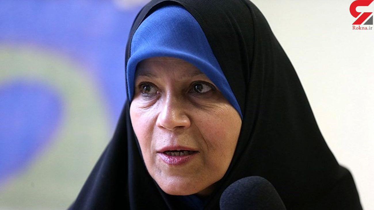 فائزه هاشمی: موبایل ندارم / اگر در فضای مجازی باشم اعدام میشوم!