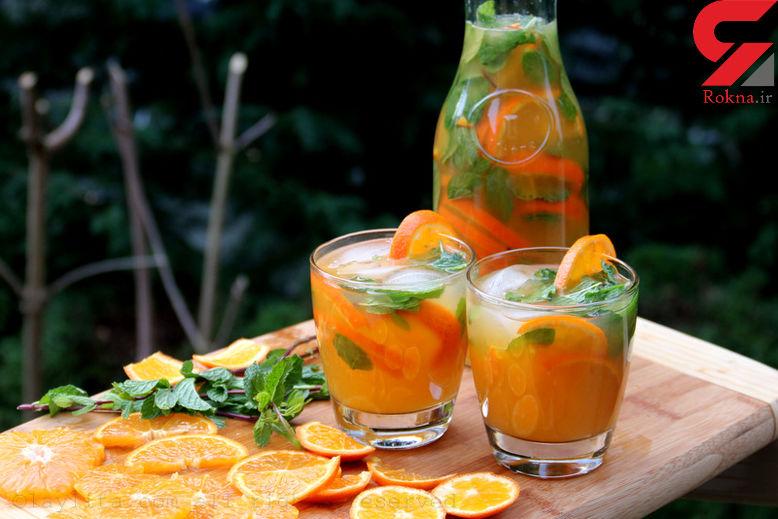 کنترل فشار خون با نوشیدن یک لیوان آبمیوه طبیعی