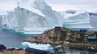 حرکت کوه یخی باعث تخلیه دهکده ای در گرینلند شد