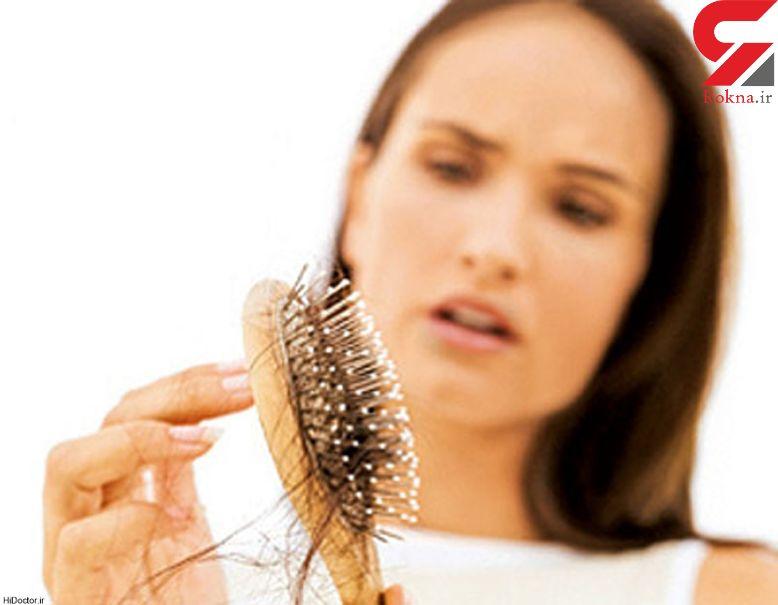 دلایل کم و نازک شدن موهای سر