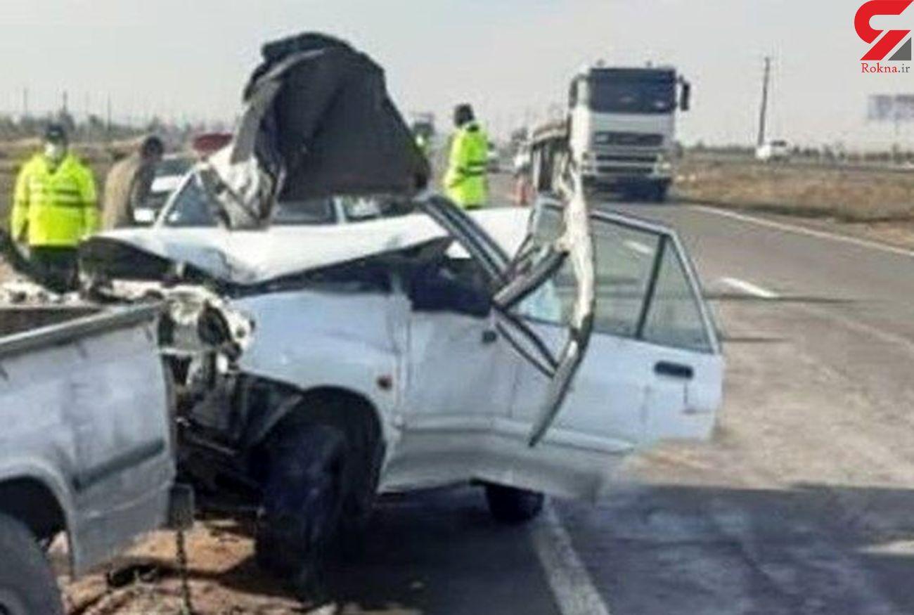 حادثه رانندگی باز هم در سمنان قربانی گرفت