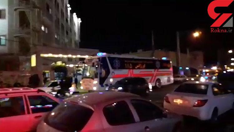 لحظه تخلیه بیمارستان فرقانی قم برای قرنطینه کرونایی ها + فیلم