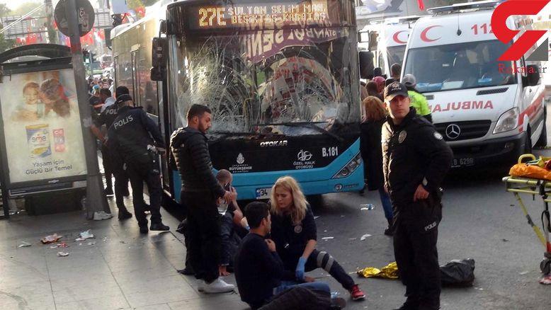 راننده اتوبوس مرموز در استانبول 3 ایرانی را زیر گرفت + تصاویر