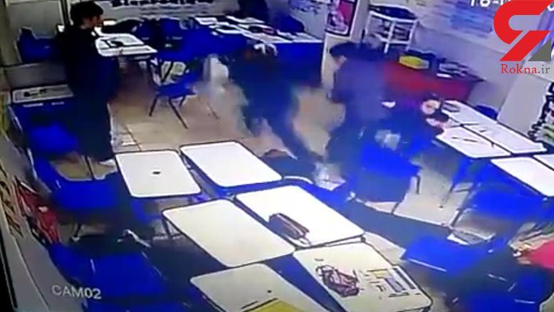 تیراندازی خونین دانش آموز 15 ساله در مدرسه + فیلم و عکس