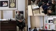برگزاری جلسه فرعی ستاد کرونا بخش با بازرسان افتخاری بسیج در دفتر بخشدار اسفرورین