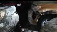 آتشسوزی در نمایشگاه خودروهای میلیاردی در بندرعباس+فیلم