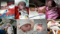 ماجرای تولد نوزاد نیم کیلویی در قم+ عکس عجیب