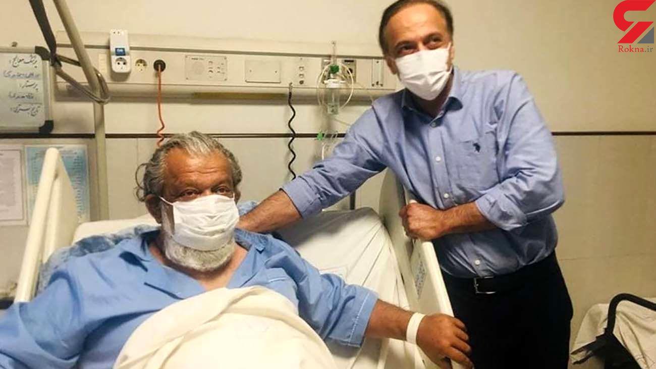 حسن پورشیرازی بازیگر سرشناس هم راهی بیمارستان شد + علت و عکس