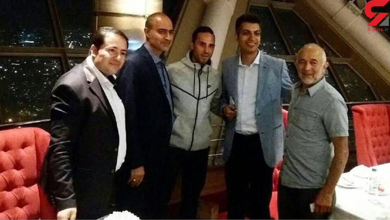 عادل فردوسی پور با الکس نوری ملاقات کرد+ عکس