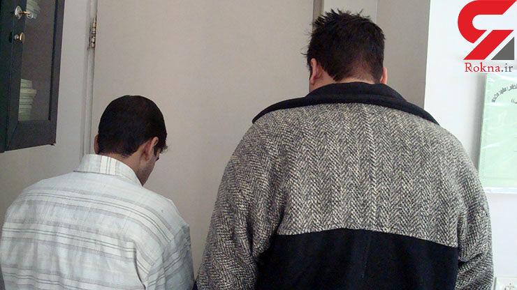 دستگیری ۲ مسافرتاجیکستانی در فرودگاه مشهد + عکس