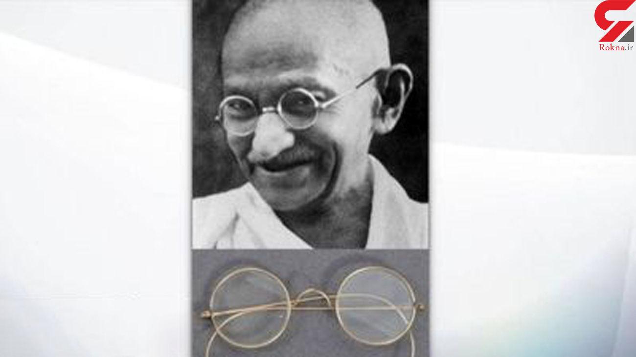 پیدا شدن عینک گاندی در عجیبترین مکان ممکن + عکس