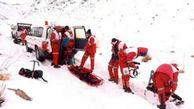 کشف جنازه یخ زده یک جوان در کوه های دمیرچی