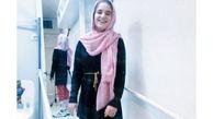 دختر فداکار ایرانی روی پاهایش ایستاد + عکس
