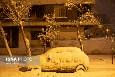 بارش برف شدید در « گیلان »