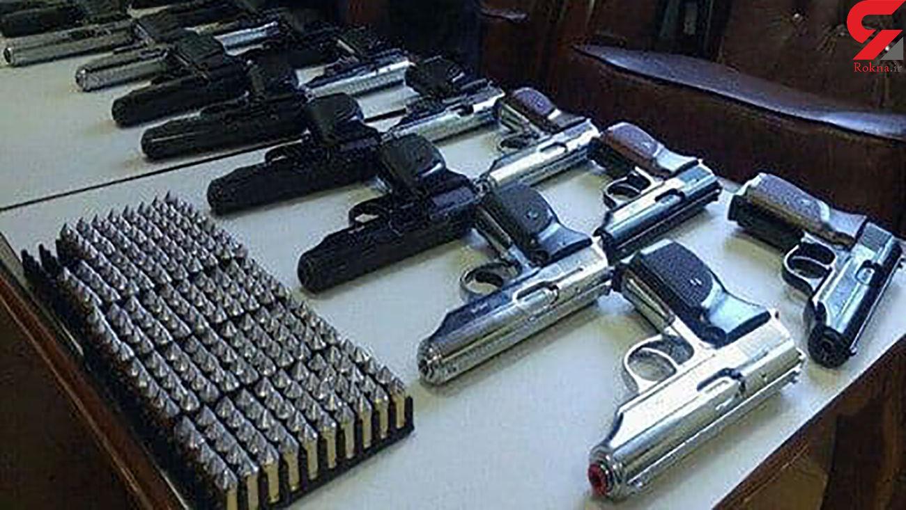 شناسایی شبکه قاچاق سلاح شکاری و جنگی +جزئیات