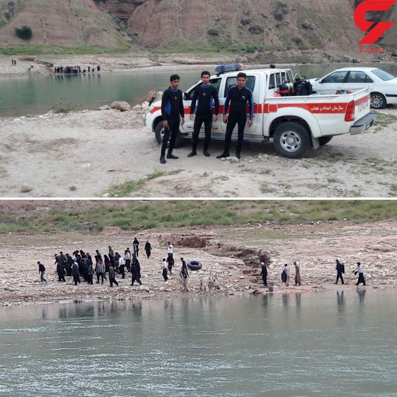 مرگ دردناک پسر جوان در سد پر از آب!