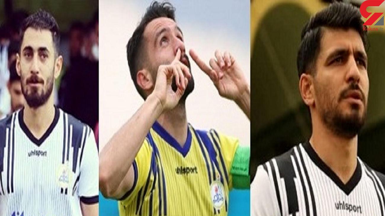 باخت بحث برانگیز و حمله به 3 بازیکن تیم فوتبال لیگ برتری + عکس