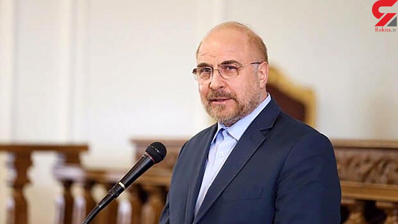 قالیباف تلویحا اعلام کاندیداتوری کرد+ عکس