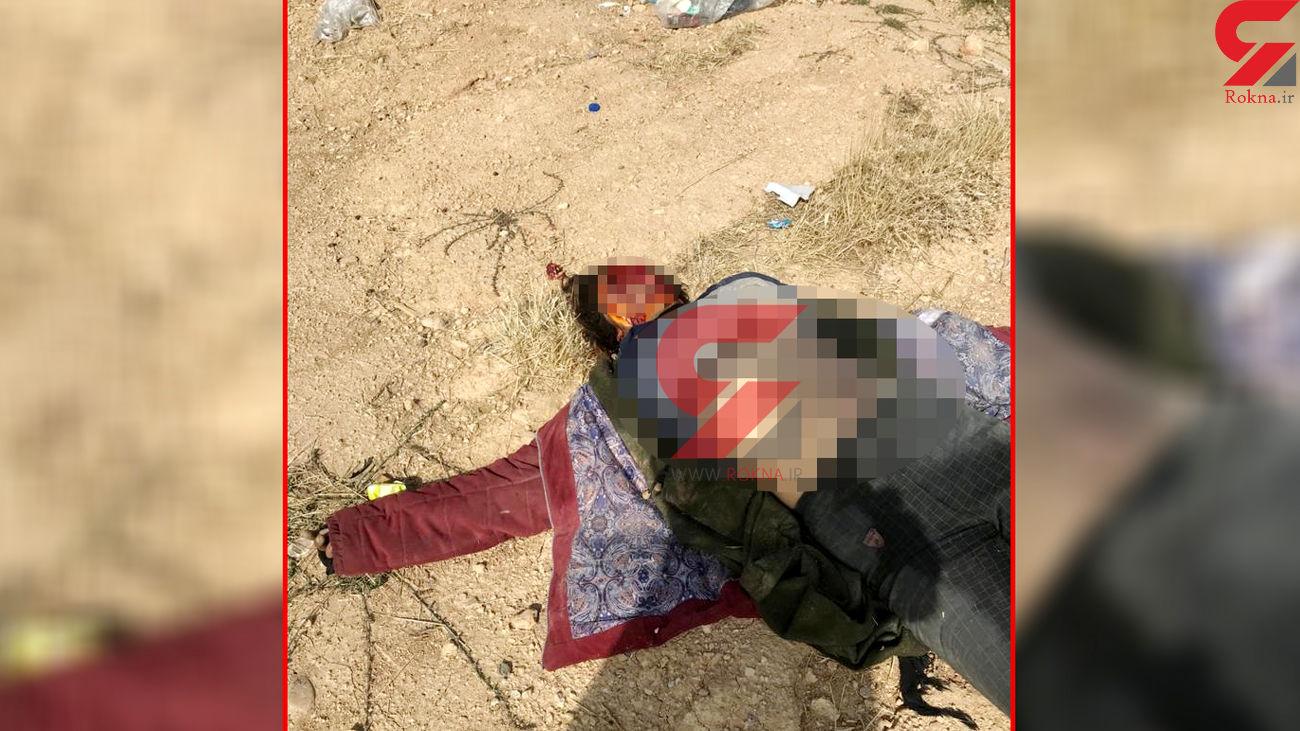 16+ فیلم و عکس جسد خورده شده یک زن  شیراز / او را می شناسید؟!