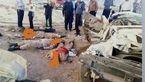 عکس دردناک اجساد 3 سرباز در تصادف جاده کرمان + جزییات