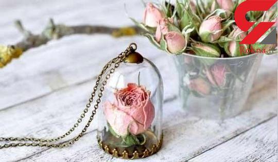 گل های طبیعی؛ جواهراتی زیبا