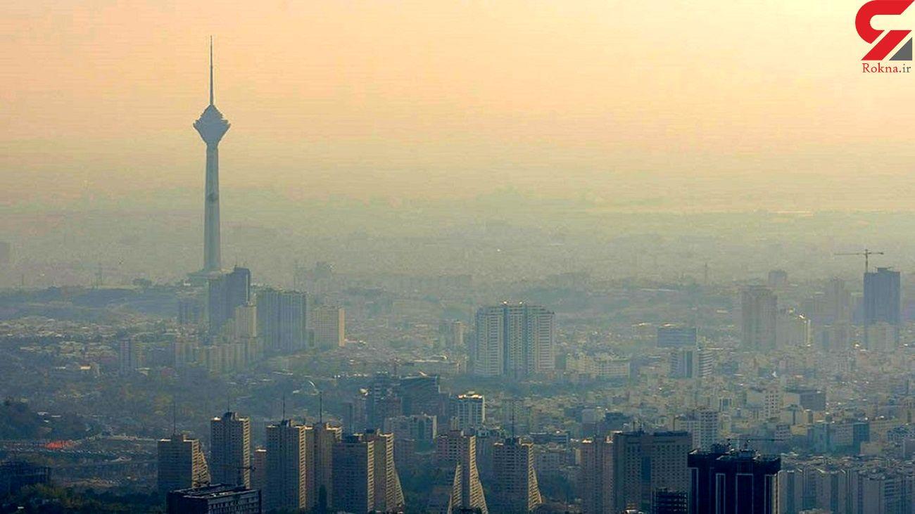 رکورد آلودگی هوای تهران در اولین هفته پاییز 1400 شکست