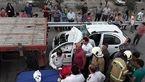 فجیع ترین تصادف در بزرگراه تهران-ساوه + عکس