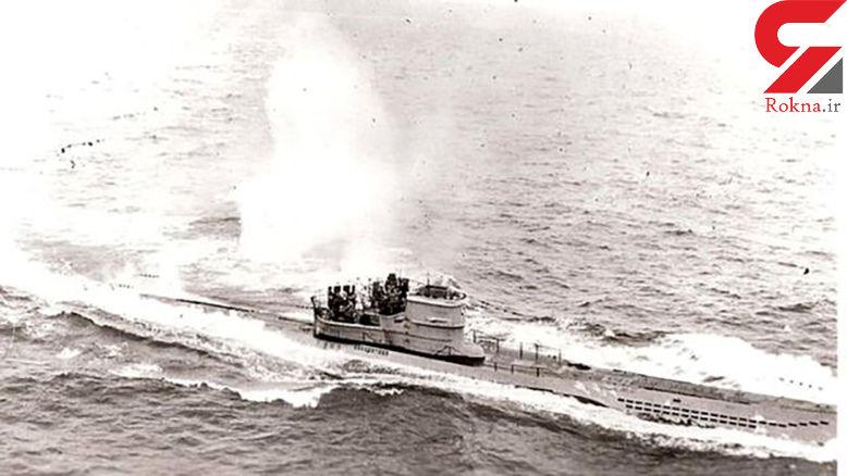 کشف لاشه زیردریایی آلمانی در آب های اسپانیا + عکس