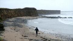 جسد رها شده یک نوزاد در کنار دریا پیدا شد