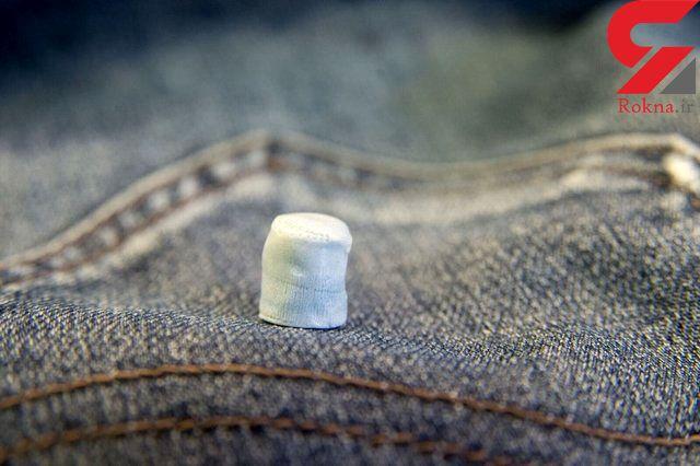 از شلوار جین  غضروف مصنوعی  ساخته شد