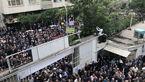 تجمع اعتراضی کارگران در مقابل خانه کارگر+عکس و فیلم