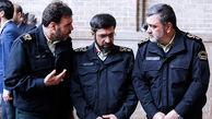 برگزاری مجلس ترحیم شهدای فاطمیه پلیس/ حضور رئیس مجلس در مراسم ختم