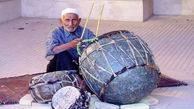پیر نقاره نواز در کرمان درگذشت + عکس