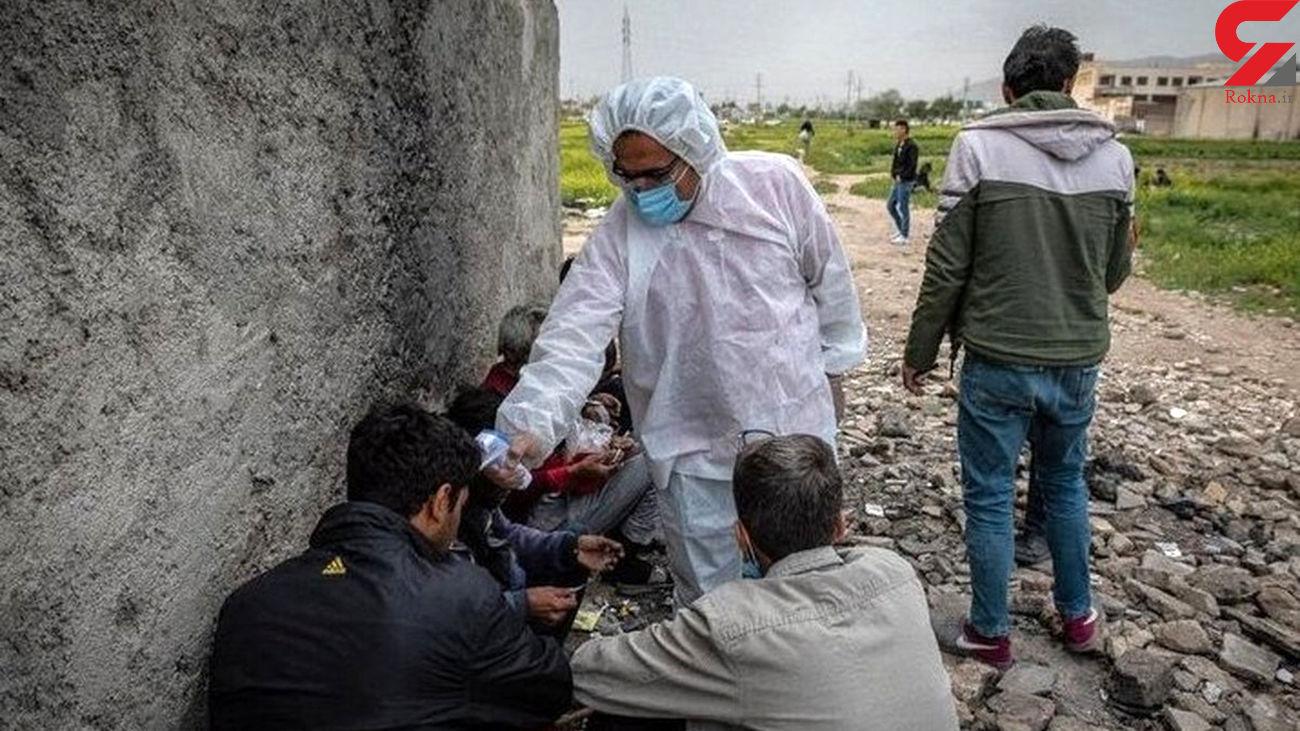 800 معتاد کرونایی در تهران شناسایی شدند