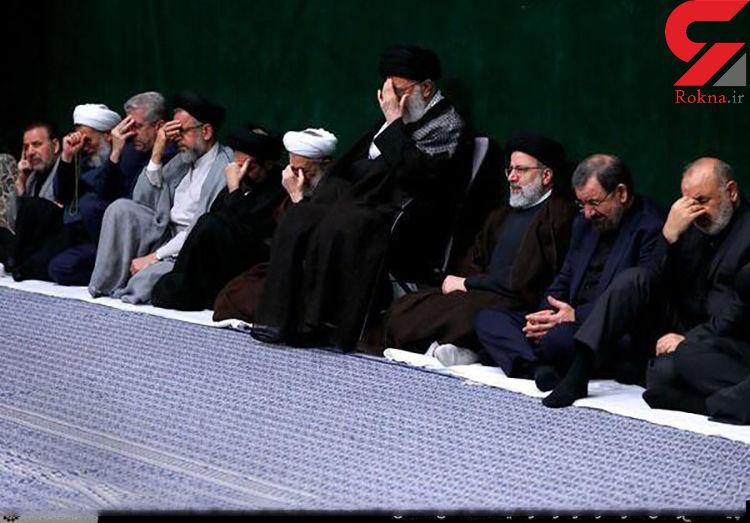 برگزاری مراسم عزاداری حضرت اباعبدالله الحسین (ع) با حضور رهبر معظم انقلاب