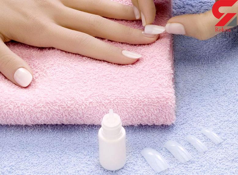 فوت وفن پاک کردن چسب قطره ای از روی ناخن