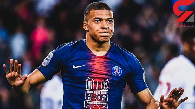 امباپه گرانترین بازیکن جوان فوتبال جهان