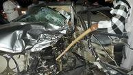 راننده پژو در تصادف با تویوتا هایلوکس در جاده جاسک جان باخت