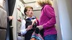گفتگو با پیرترین مهماندار زن جهان + عکس