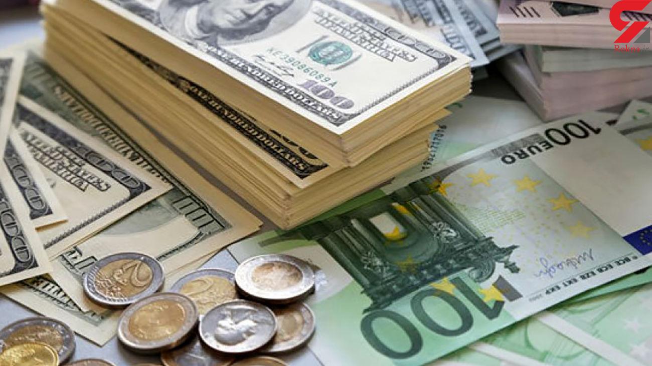 قیمت دلار و قیمت یورو امروز سه شنبه 7 بهمن ماه 99 + جدول