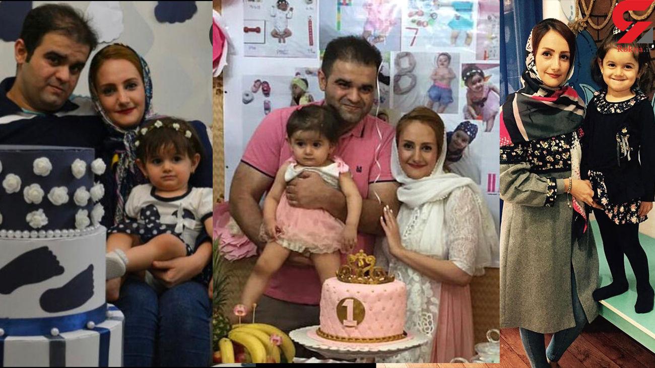 قتل عام در شهرک اوج کرج / جنازه مادر و دختر بی نوا داخل کمد بود+ عکس قربانیان و فیلم
