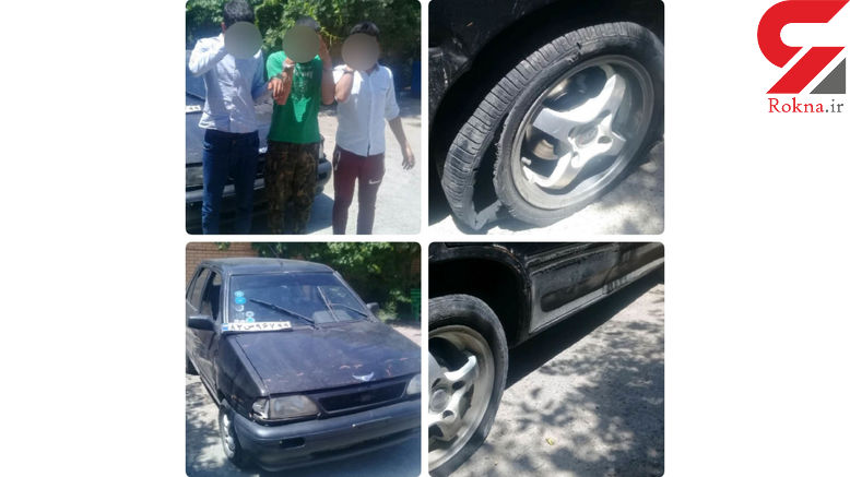 شلیک های دقیق پلیس 3 جوان سارق را در قیامدشت زمینگیر کرد +عکس