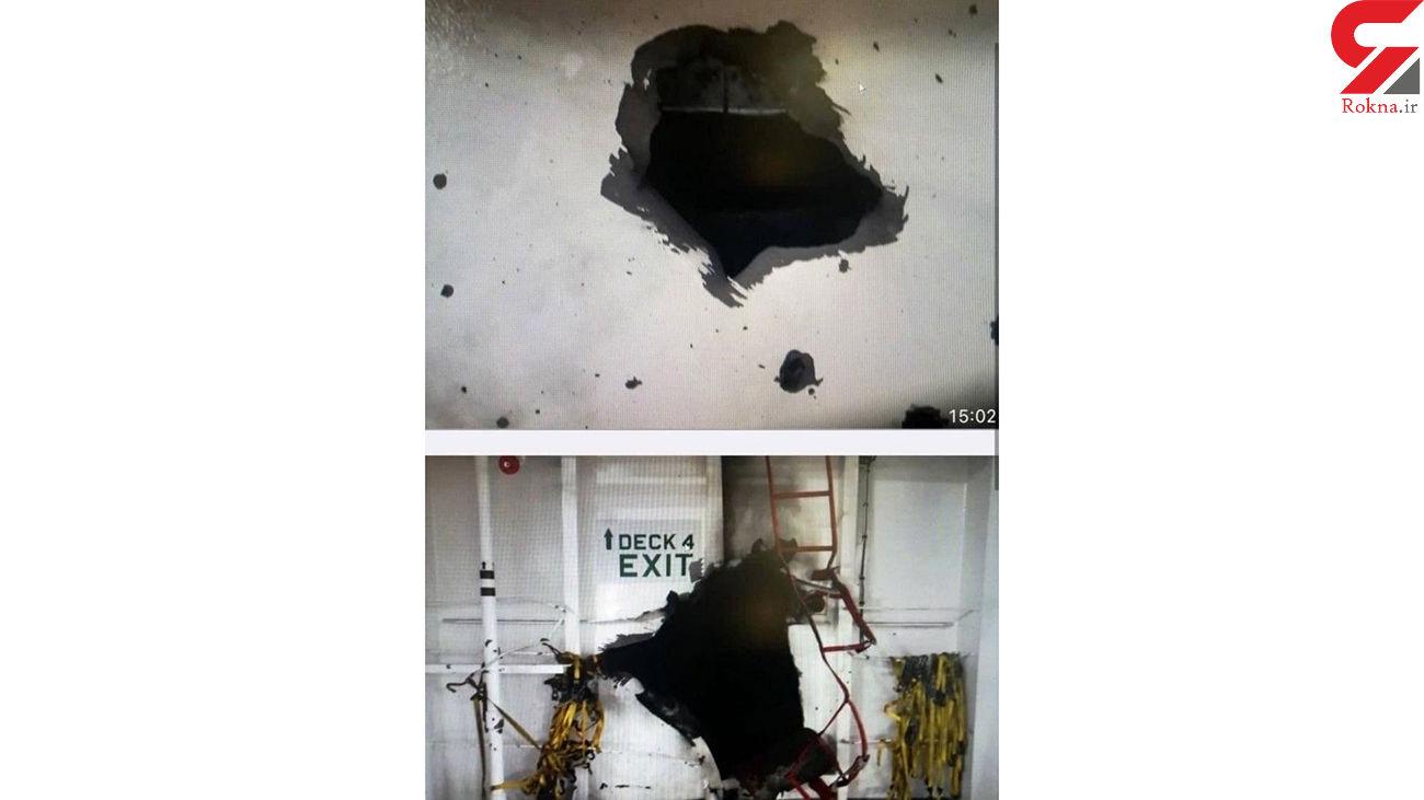 احتمالا ایران پشت حادثه  انفجار کشتی رژیم صهیونیستی باشد