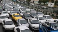 وضعیت ترافیک تهران شنبه 19 تیرماه