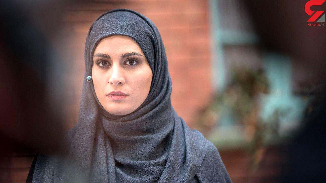 بازیگر زن لبنانی با پوششی عجیب وارد ایران شد ! +فیلم و عکس