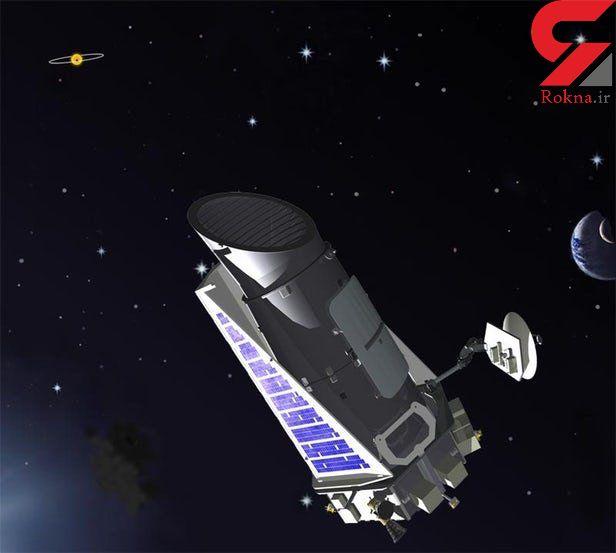 """ناسا از آخرین نفس تلسکوپ """"کپلر"""" استفاده کرد"""