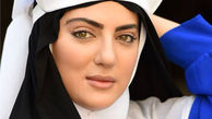 عکس بسیار زیبای هلیا امامی خرم سلطان ایرانی در طبیعت با تیپی متفاوت