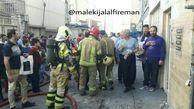 7 زن و مرد در محاصره آتش / در نظام آباد رخ داد +فیلم و عکس